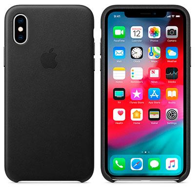 Удобный кожанный чехол для iphone